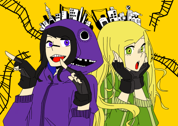 Disappointment Art#6-Matryoshka! Rao and Jo by DisappointmentRao