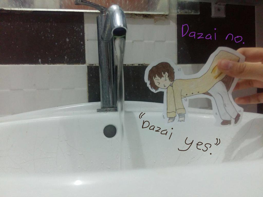 Paper Child! Osamu Dazai~ by DisappointmentRao