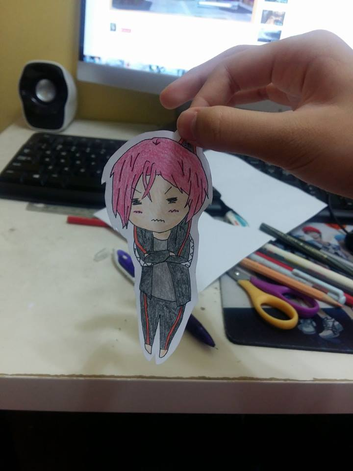 Paper Child! Matsuoka Rin~ by DisappointmentRao