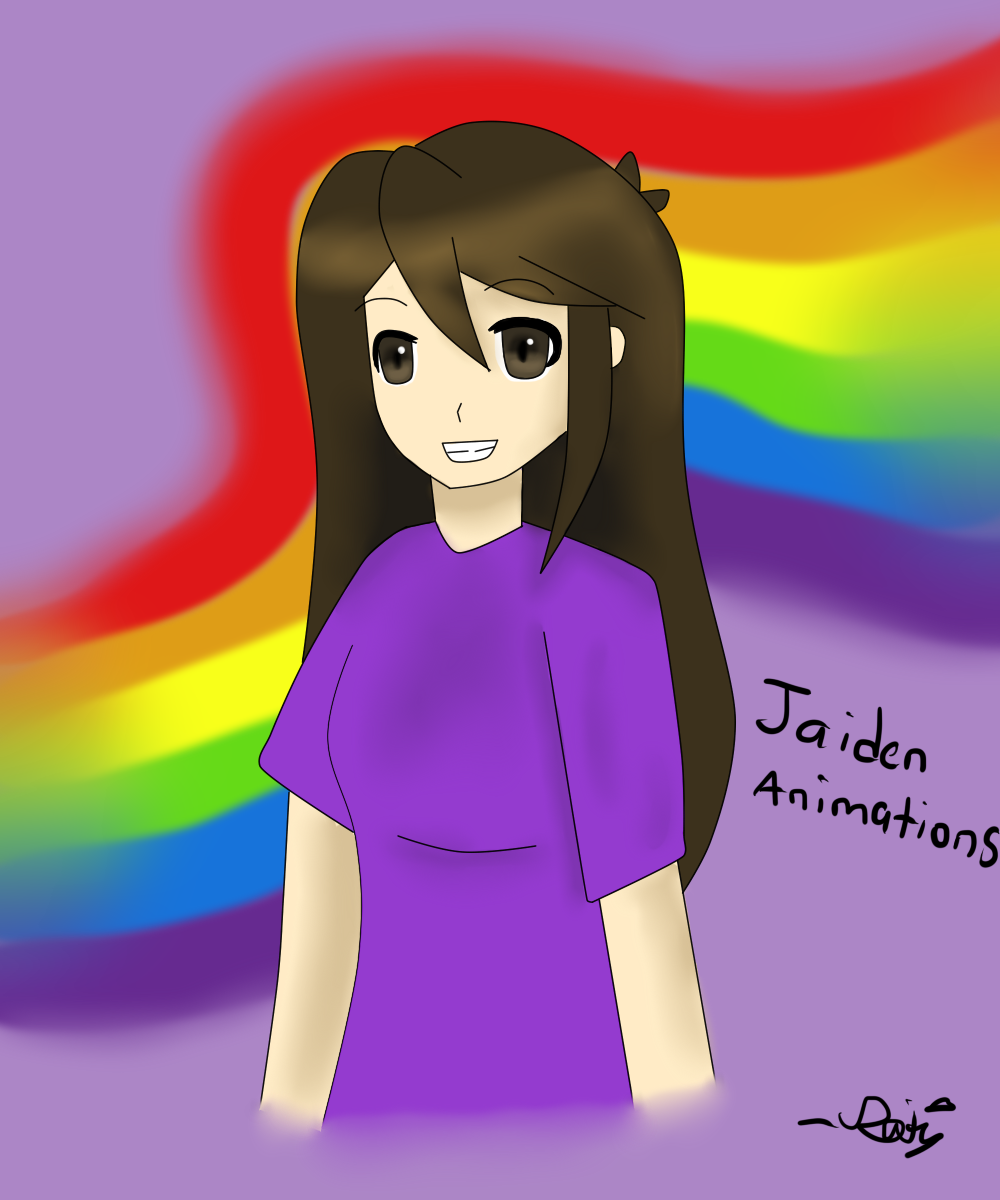 Disappointment Art#10-Jaiden Animations Fanart! by DisappointmentRao