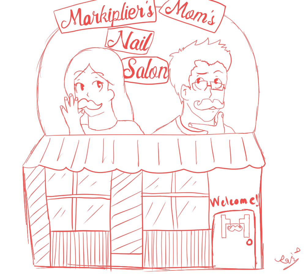 [DA] Markiplier's Mom's Nail Salon! by DisappointmentRao