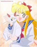 Minako y Artemis by TsukinoChibiusa