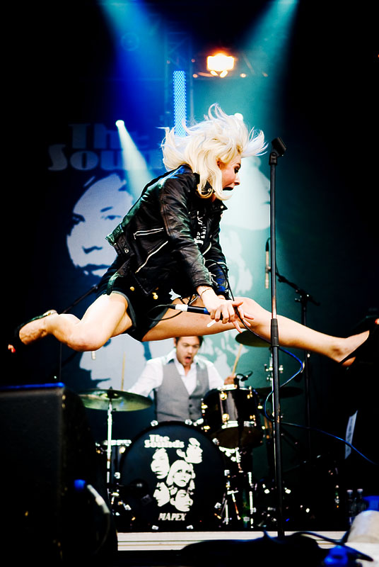 Maja Ivarsson of The Sounds by eX-Perience