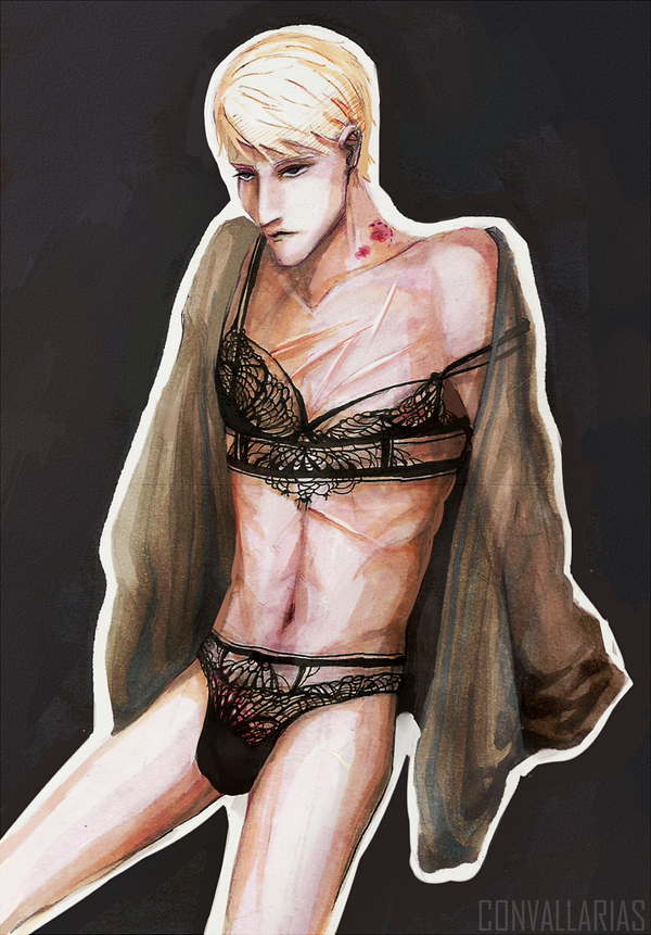 lingerie by Luska-chan
