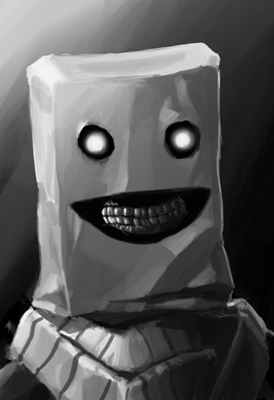 :D by Paperheadman