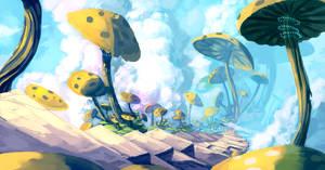Sky Mushrooms