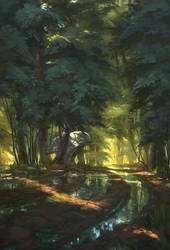 Forest Node by Paperheadman