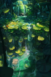 Sunken Gardens by Paperheadman