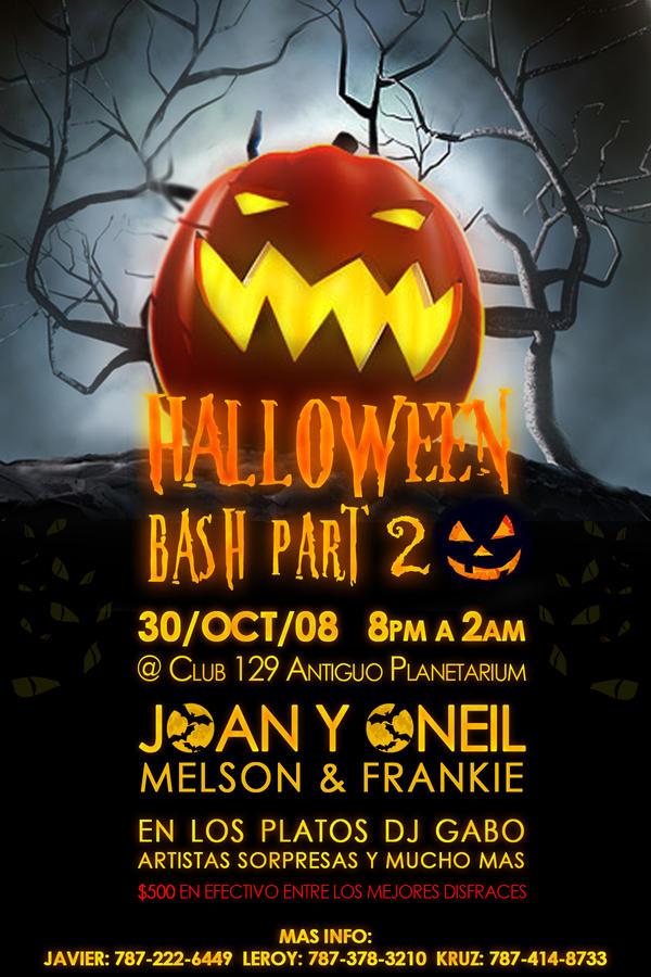 Halloween Bash by kruz-fuzion