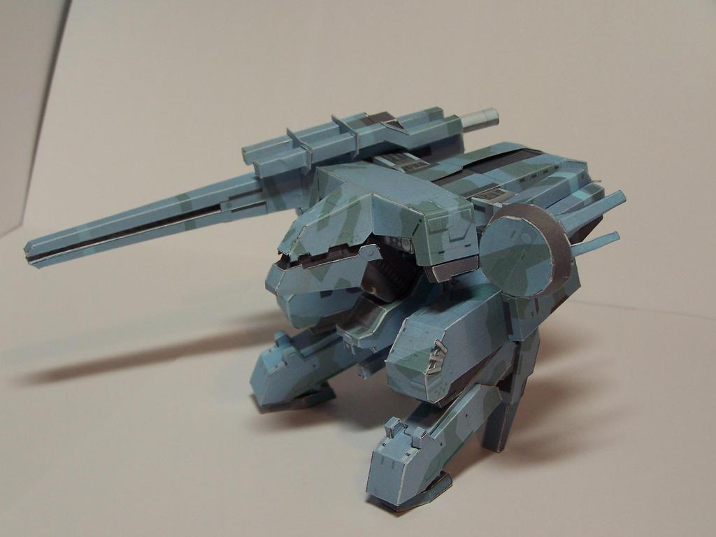 Metal Gear Rex by GuardianStorm