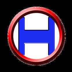 Digital made Circle H logo by Dale-Husband