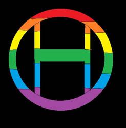 Rainbow Circle H by Dale-Husband