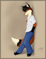 Just a Fox by RiceGnat