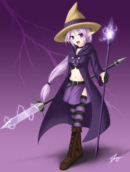 Weapon: Purple by RiceGnat