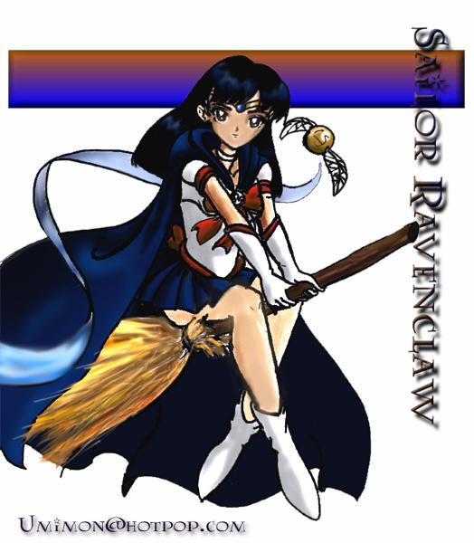 Sailor Ravenclaw by furry-jackal