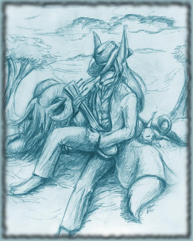 Last: Lonely Shepard by furry-jackal