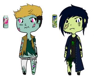 SkeletonCastle Pop Zombie Customs by Quibbl