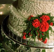 wedding cake by randomjan
