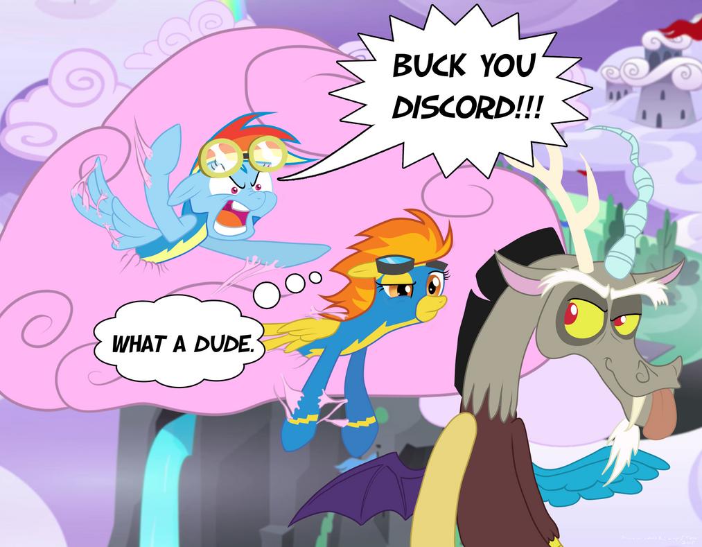 BuckYouDiscord!! by ConkerTChilla