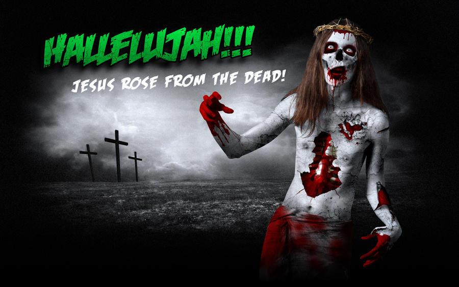 Jesus Zombie by shadowiness