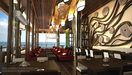 Takigawa Resto Interior1 by ronaldsunrise