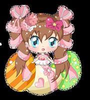 Easter Ella by KawaiiiJackiiie