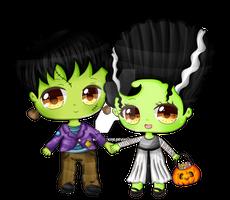 Frankenstein Couple