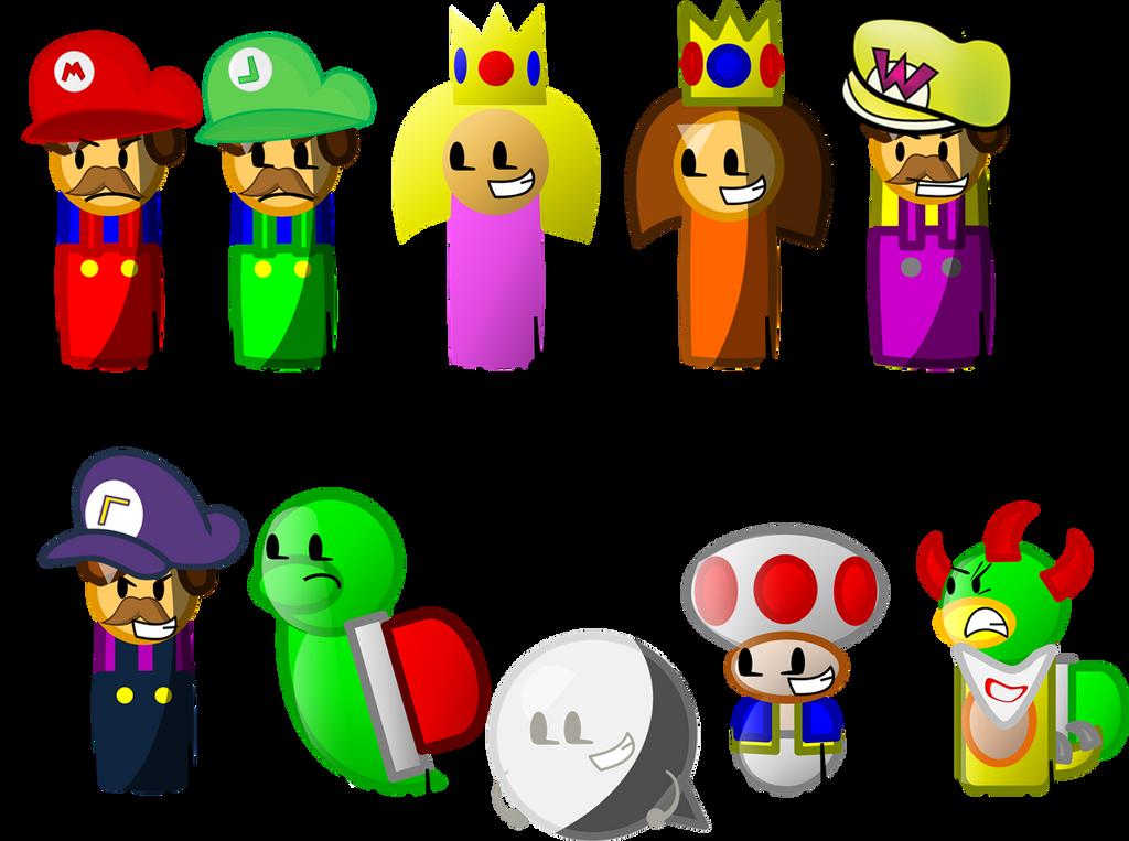 Mario Party Island Tour Wario
