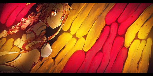Asuna Smudge Tag by KokuiMato