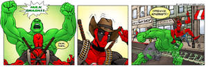 Deadpool vs. The Hulk