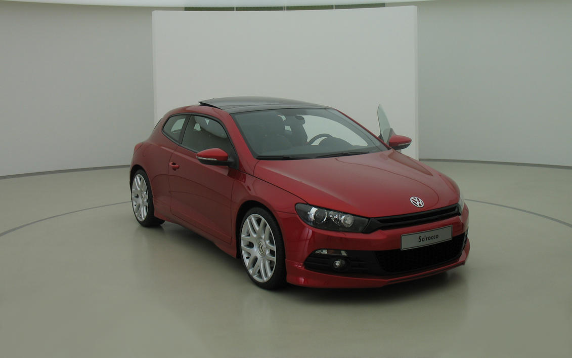 Scirocco at display by joac1408
