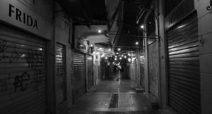 Monastiraki Athens by night
