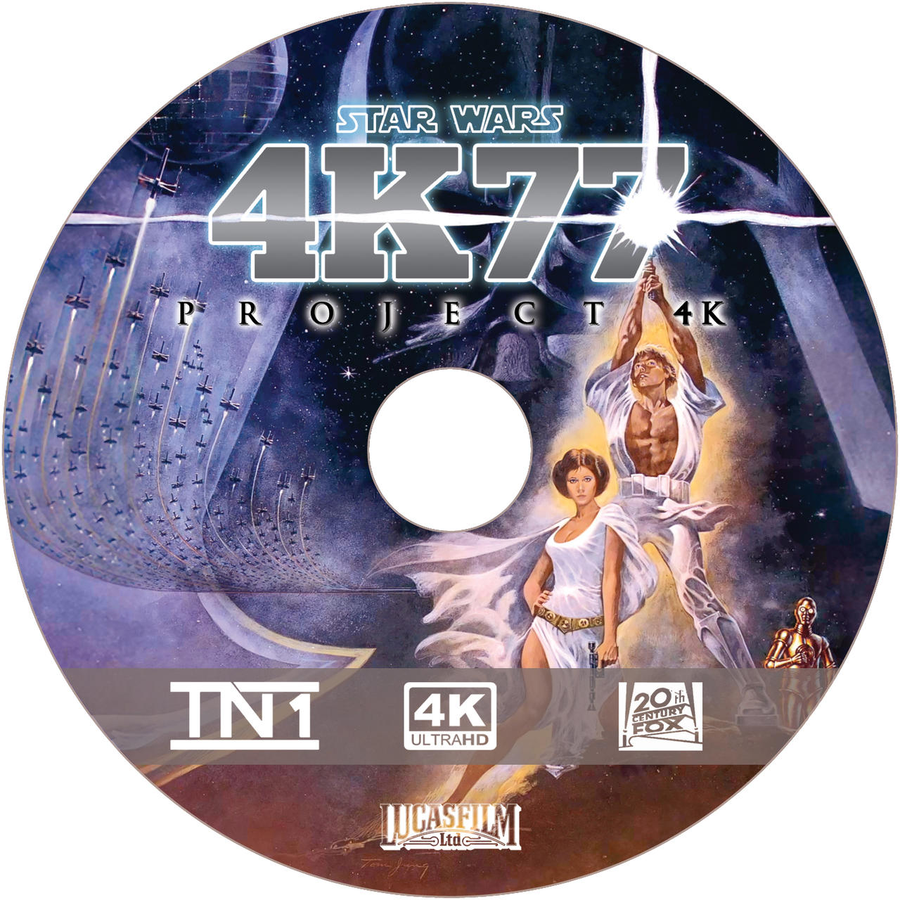 Project 4K77 disc