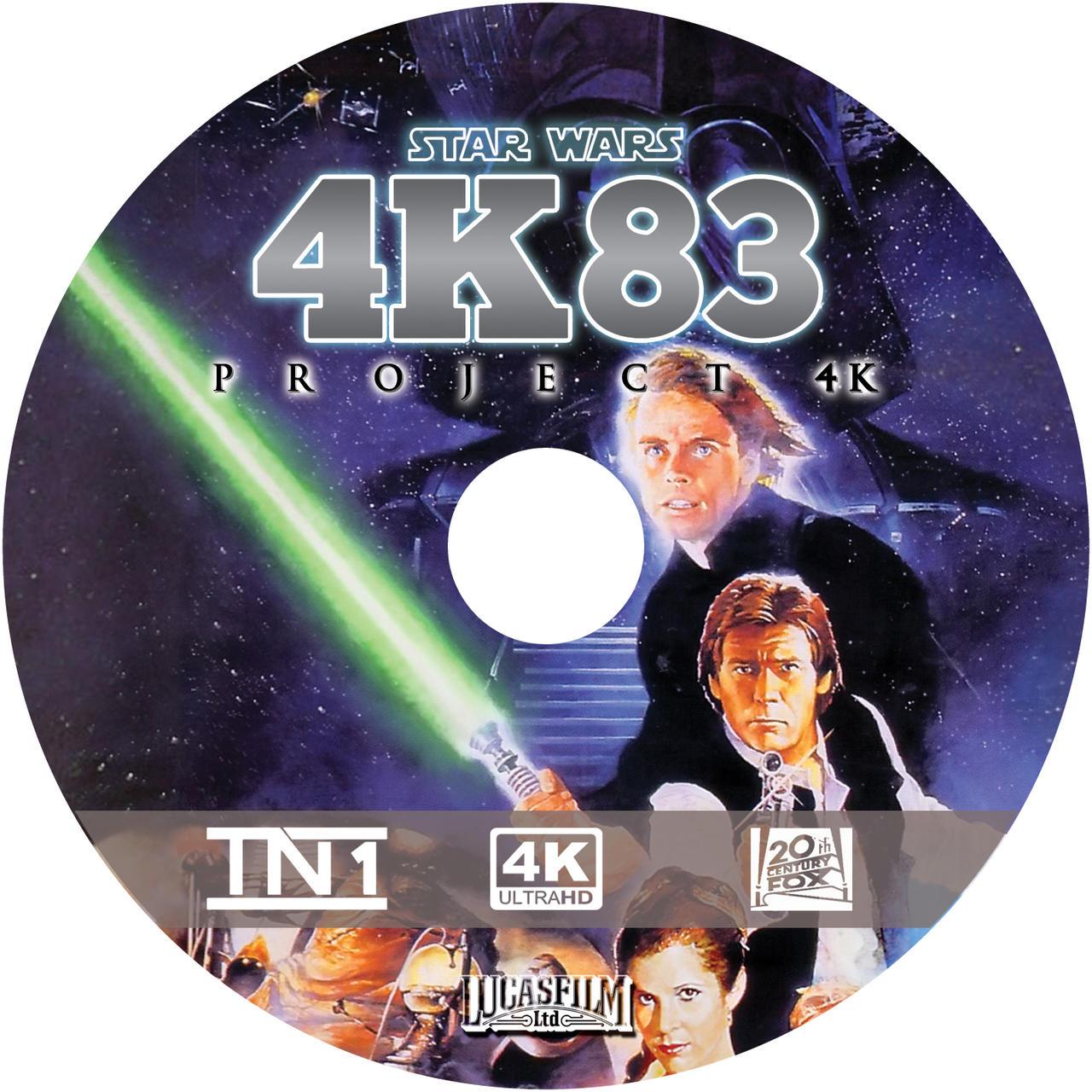 Prokect 4K83 disc