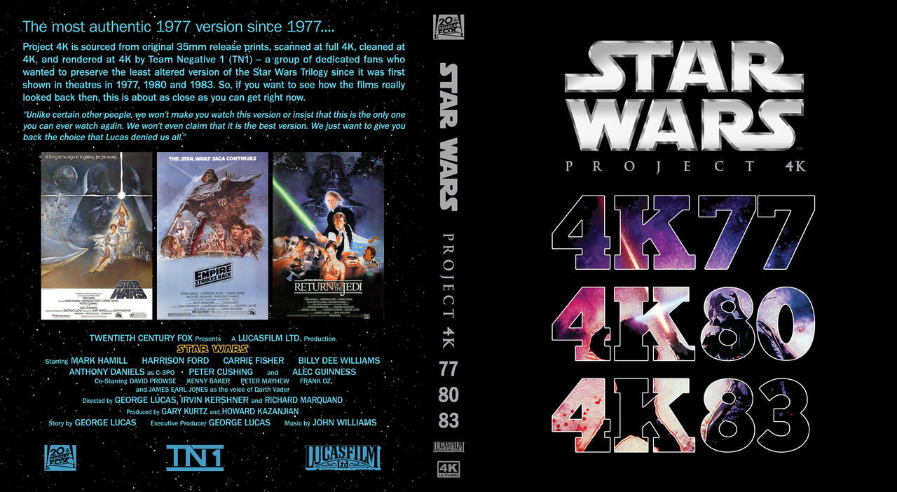 Project 4K custom cover 3-in-1
