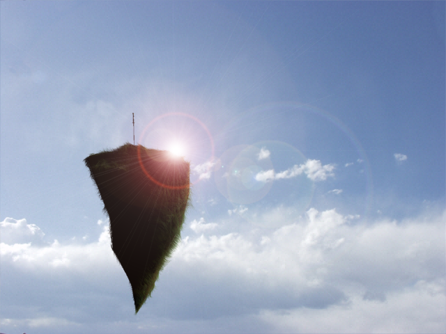 Destination Sky by BruceLeeButters