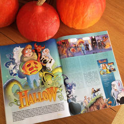 Article HALLOW dans BAMBOO Magazine