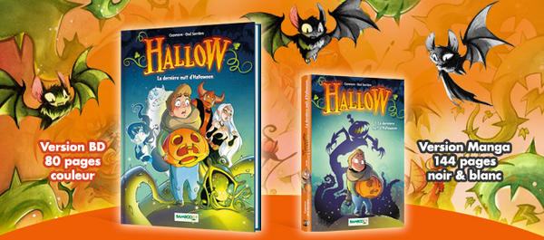 HALLOW Version bd et Manga Nb by Ood-Serriere