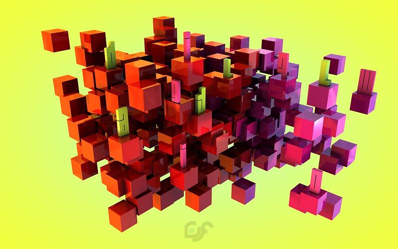 Digital Flow by lum1neuz