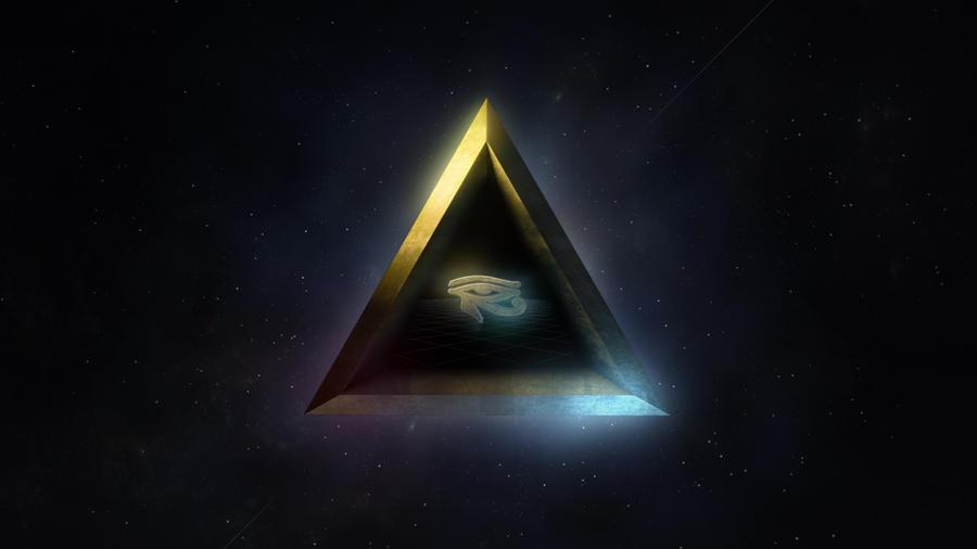 Eye Of Horus By Lum1neuz