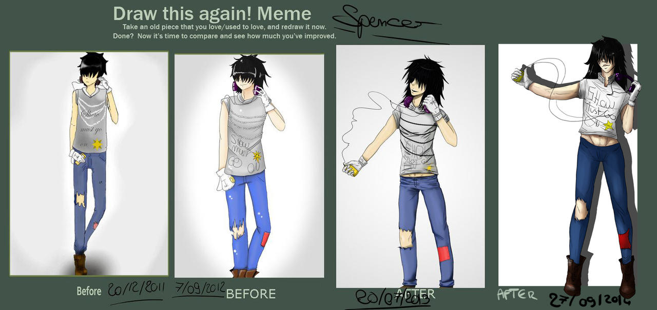 Before and after after after meme by 5th-Alice