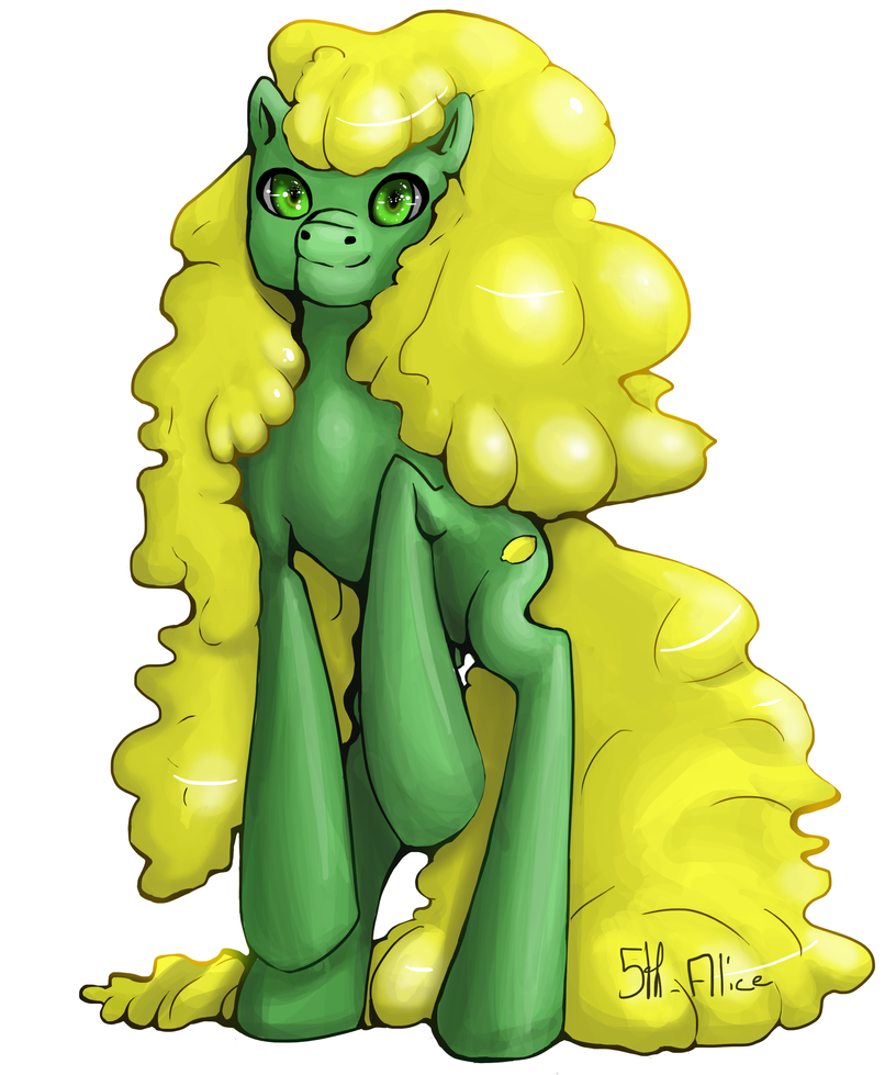 Pony : Lemon Jelly by 5th-Alice