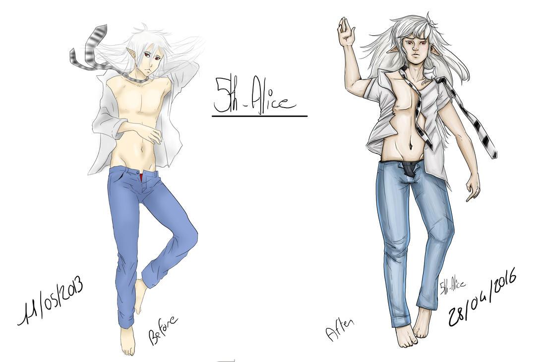 OC - Shiroki Improvement meme by 5th-Alice