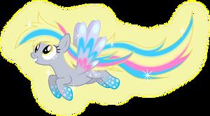 Rainbow Power Derpy