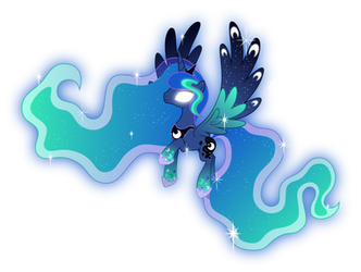 Rainbow Power Princess Luna