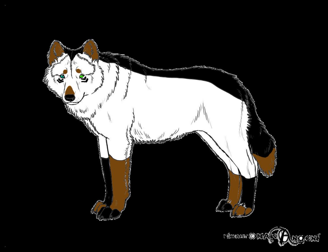 Custom For Echomoon by Angelwolf-95