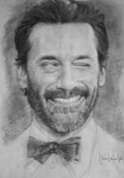 Portrait sketch by AMA-3