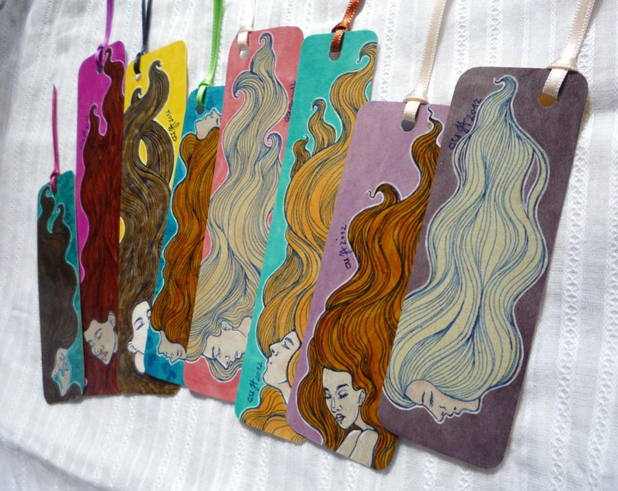 Hairflow Bookmarks... by cuygirl
