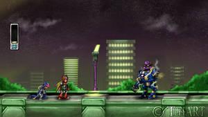 Megaman X: Zero Appears by TLEEART