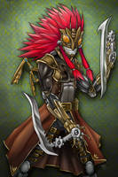 :Brass Mantis: by TLEEART